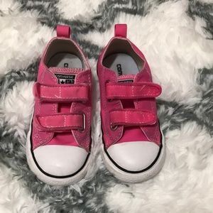 🎀Pink Infant Converse🎀